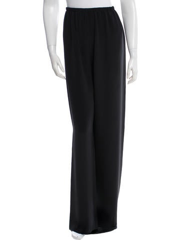 Peter Cohen Wide-Leg Silk Pants