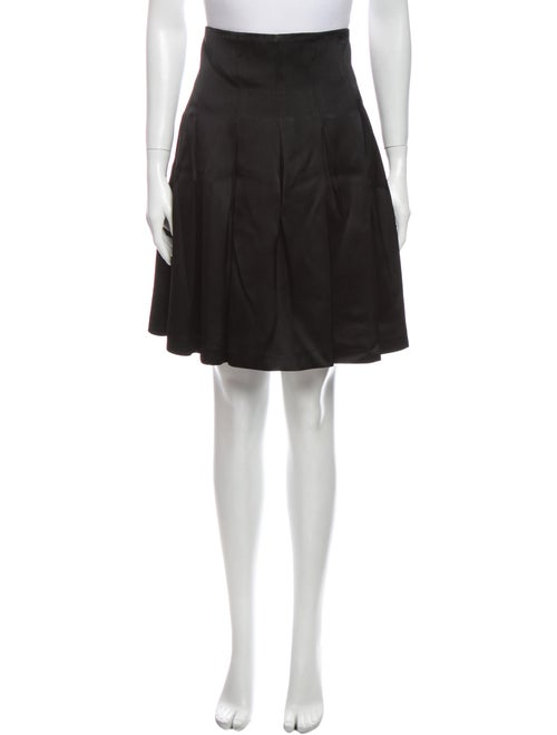 Patrick Kelly Knee-Length Skirt Black