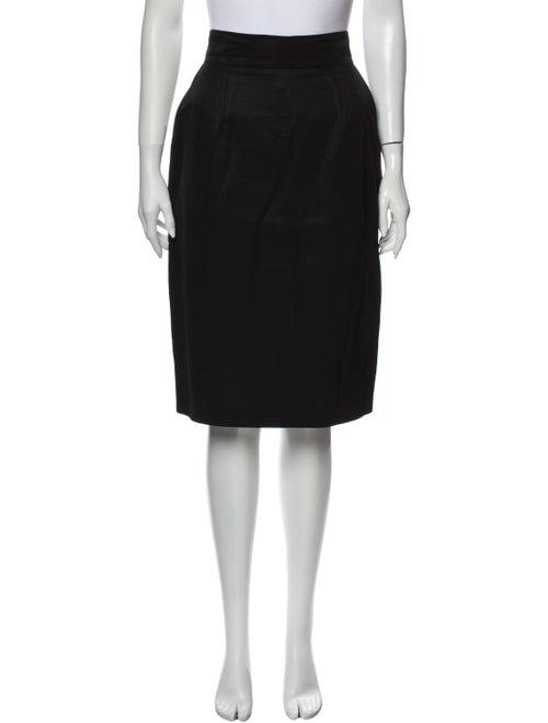 Patrick Kelly Knee-Length Skirt Black