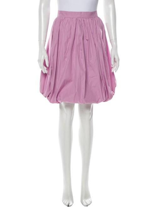 Patou Knee-Length Skirt Purple