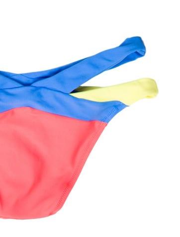 Colorblock Bikini Bottom w/ Tags
