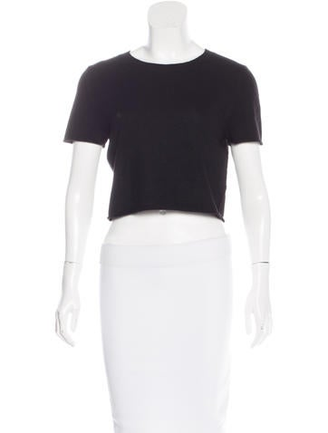 ThePerfext Cashmere Crop Top w/ Tags None
