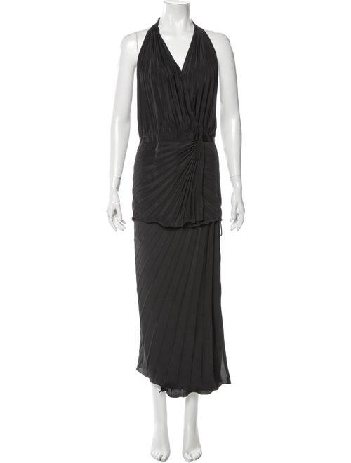 Raey Pleated Accents Skirt Set Black