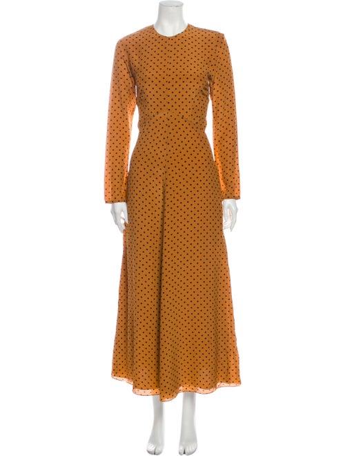 Raey Silk Long Dress