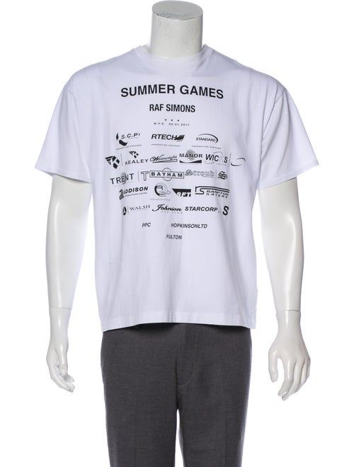 7941f354522 Raf Simons 2017 Summer Games T-Shirt - Clothing - RAF20859