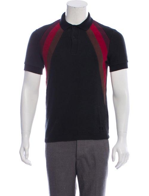 Raf Simons Short Sleeve Polo Shirt black