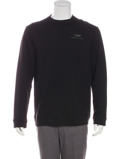 Raf Simons 2018 Graphic Print Sweatshirt black