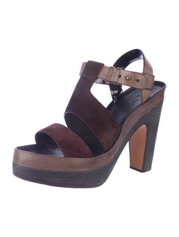 Stern Platform Sandals w/ Tags