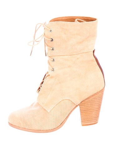 Canvas Booties