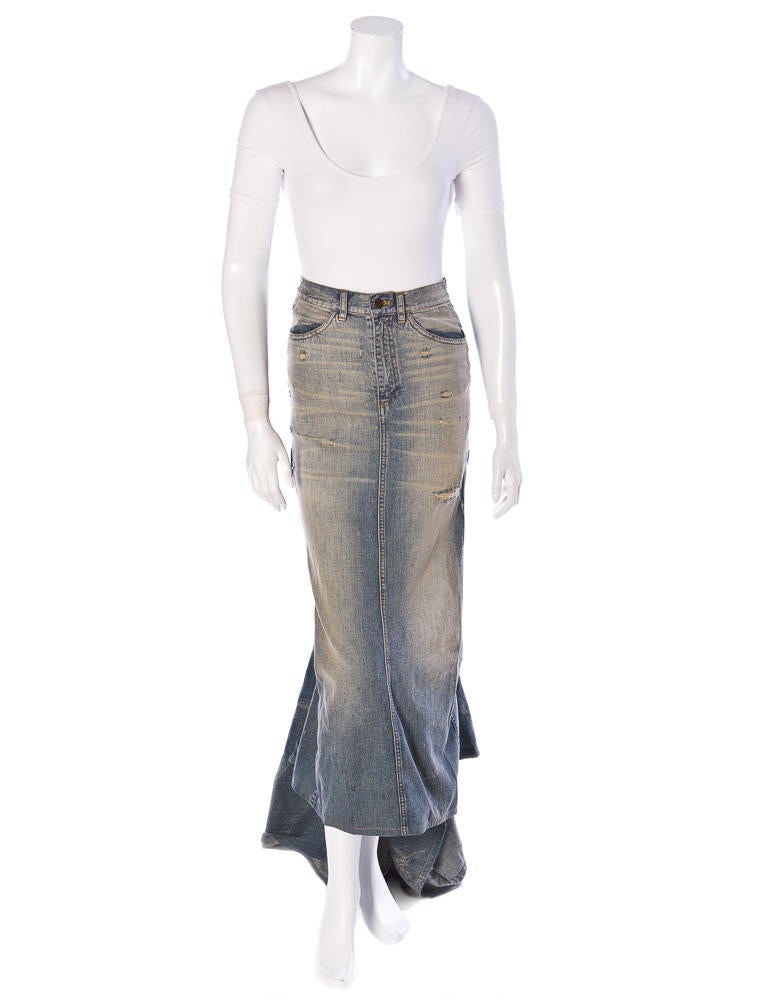 Ralph Lauren Denim Skirt - Clothing - RAL01662 | The RealReal