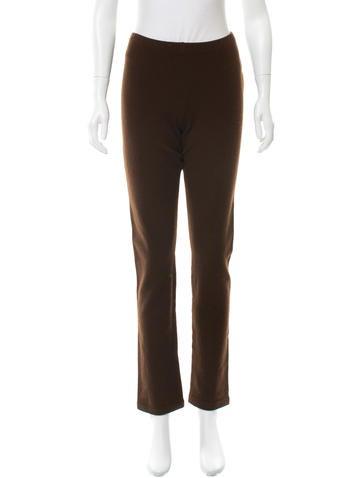Ralph Lauren Collection Cashmere Straight-Leg Pants w/ Tags None