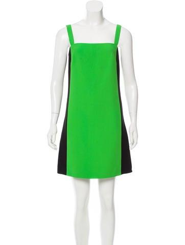 Ralph Lauren Collection Colorblock Mini Dress None