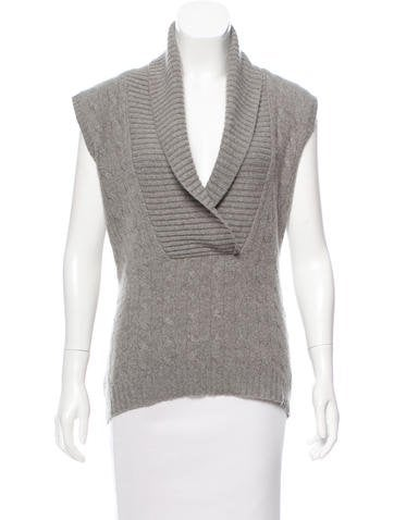 Ralph Lauren Collection Cashmere Sleeveless Top None