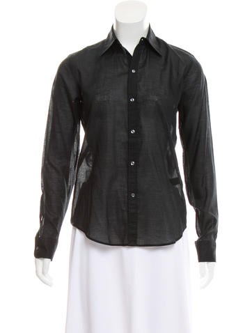 Tailored Button-Up