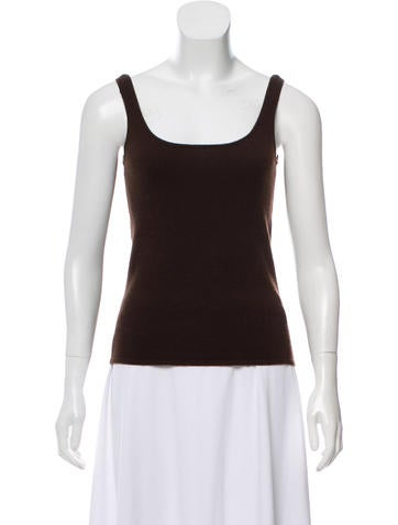 Ralph Lauren Collection Sleeveless Cashmere Top None