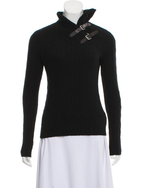 f094f7118dde Ralph Lauren Collection Cashmere Cable Knit Sweater - Clothing ...