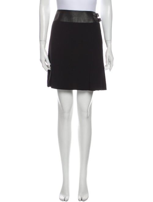 Ralph Lauren Collection Wool Mini Skirt Wool