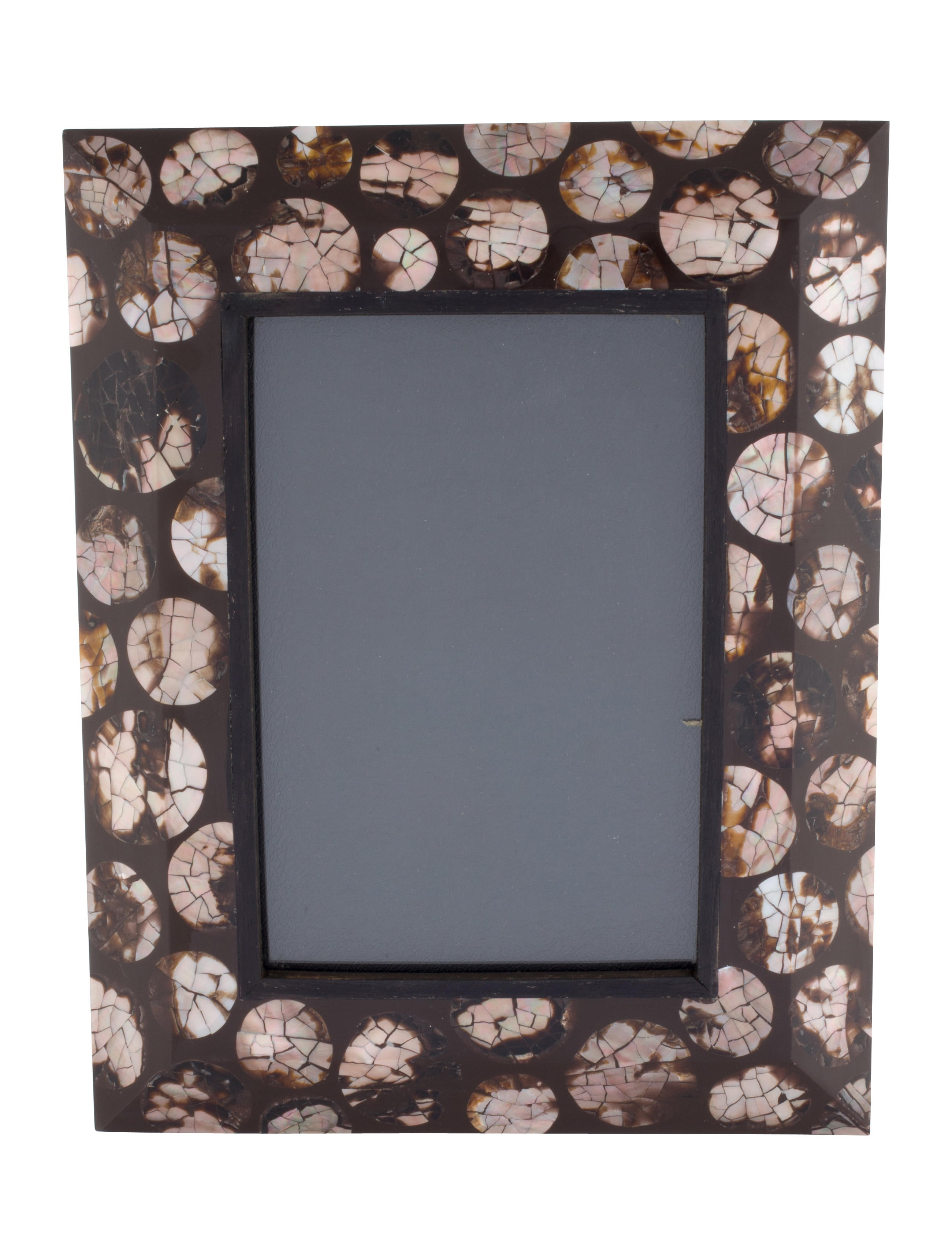 R Y Augousti Mother Of Pearl Picture Frame Decor And