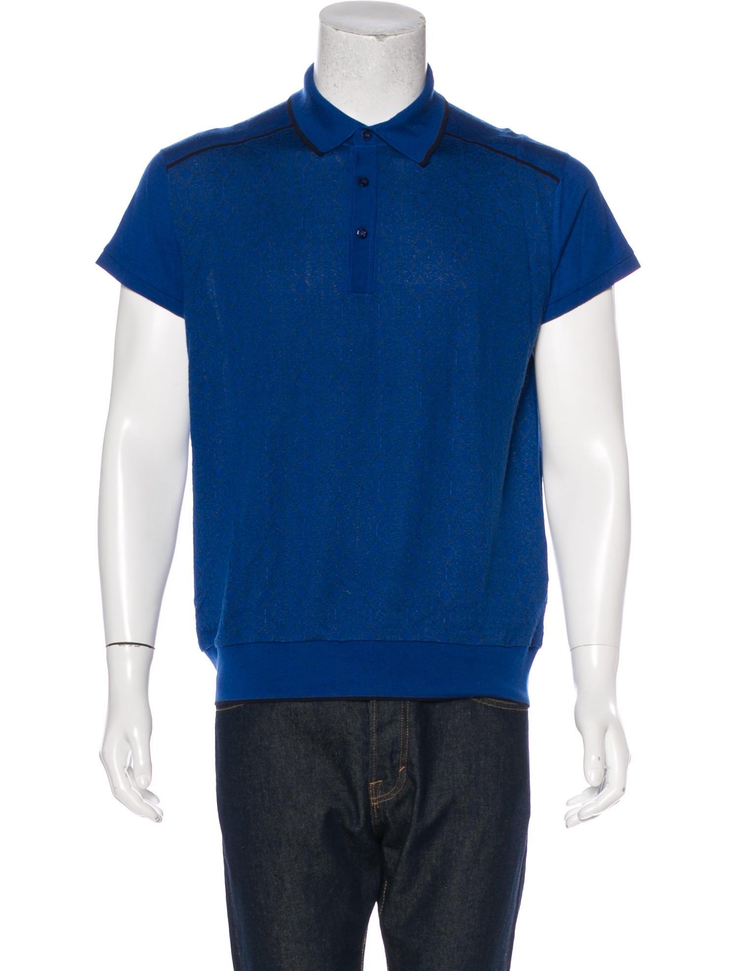 Stefano Ricci Cashmere Silk Polo Shirt Clothing