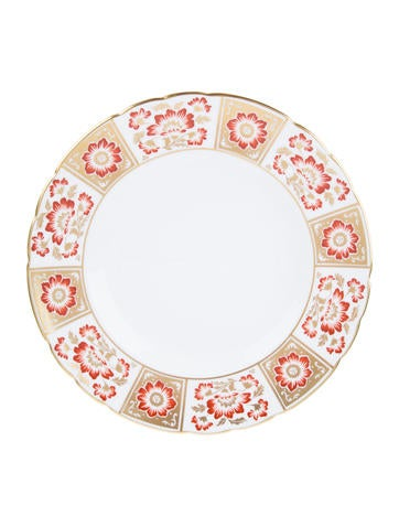 Royal Crown Derby Panel Dinner Plate None