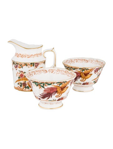 Royal Crown Derby 3-Piece Old Avesbury Coffee Serveware Set None