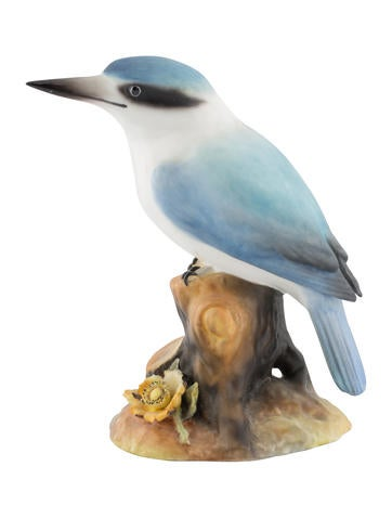 Royal Crown Derby Australian Kingfisher Figurine None