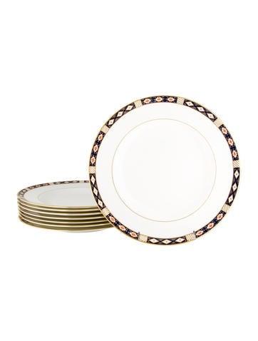 Royal Crown Derby Kedleston Dinner Plates None