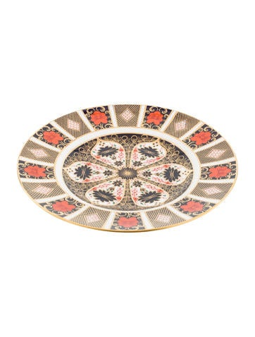 Royal Crown Derby Imari Dinner Plate None