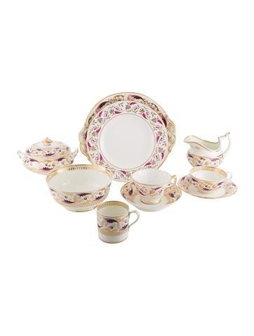 Royal Crown Derby 56-Piece Princess Partial Tea Service None