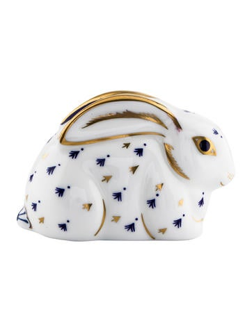 Royal Crown Derby Rabbit Paperweight None