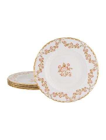 Royal Crown Derby Set of 5 Bourbonnais Salad Plates None