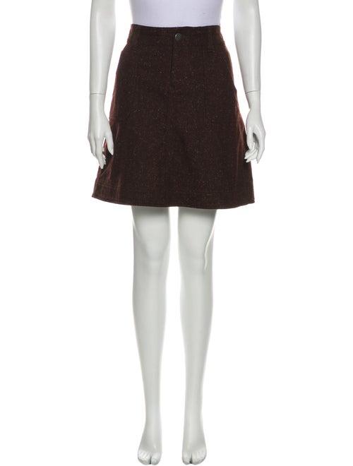 Woolrich Mini Skirt Brown
