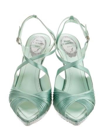 Satin Multistrap Sandals