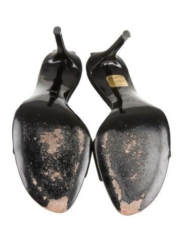 Satin Lace-Up Sandals