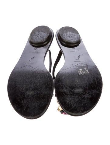 Embellished Slide Sandal