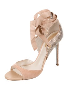 1fd03746e28 Embellished Thong Sandals. Size  US 9.5