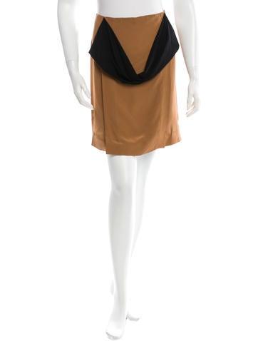 Reed Krakoff Draped Mini Skirt