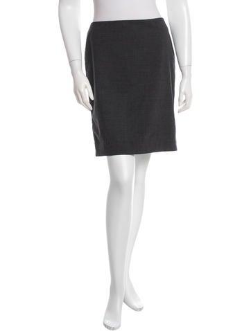 Reed Krakoff Wool Mini Skirt None