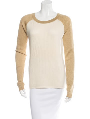 Reed Krakoff Colorblock Wool Sweater None