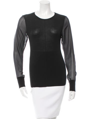Reed Krakoff Knit Crew Neck Top None