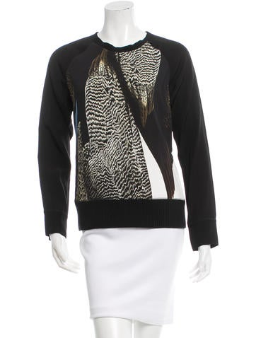 Reed Krakoff Abstract Print Long Sleeve Top None