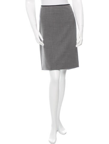 Reed Krakoff Wool A-Line Skirt w/ Tags None