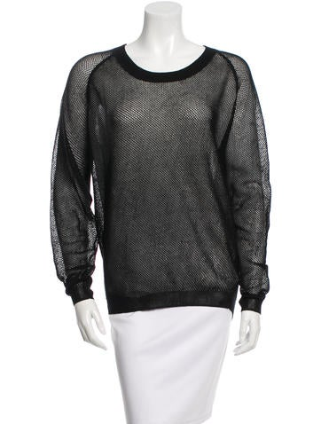 Reed Krakoff Long Sleeve Crew Neck Top None