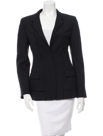 Reed Krakoff Wool Notch-Lapel Blazer w/ Tags None