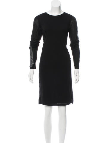 Reed Krakoff Long Sleeve Shirt Dress None