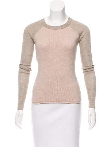 Reed Krakoff Wool Long Sleeve Top None