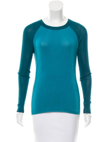 Reed Krakoff Wool Long Sleeve Sweater None