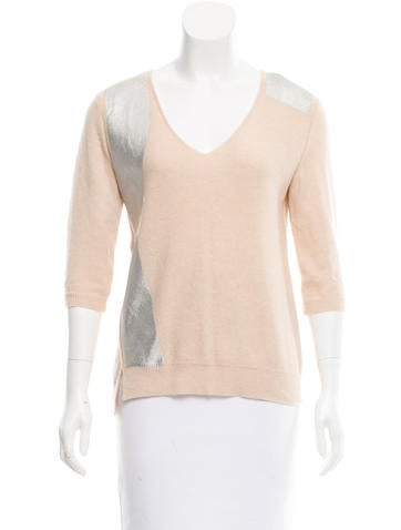 Reed Krakoff Cashmere V-Neck Sweater None