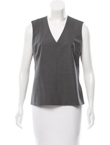 Reed Krakoff Sleeveless Wool Top None