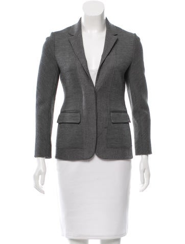 Reed Krakoff Wool Notch-Lapel Blazer None